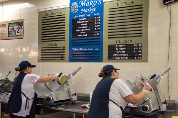 Full Service Deli | Mako's Market and Pharmacy